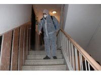 Apartman ve özel işyerlerine dezenfekte