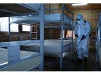 Evsizlere virüse karşı koruma kalkanı