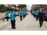 Keşan Belediye Bandosundan 'Evde Kal' konseri