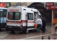 Malatya'da sokakta fenalaşan yaşlı adam ekipleri alarma geçirdi