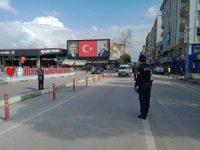 Bursalılar evde kalmayınca emniyet tedbirleri artırdı