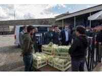 Van'da sebze haline araç girişlerinde kota dönemi