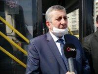 İstanbul'da Özel Halk Otobüslerinde korona virüs önlemi