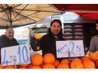 Pazarın en pahalı ürünü çilek ve limon oldu