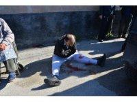 Polisi bıçaklayan zanlı ruh sağlığı hastanesine yatırıldı