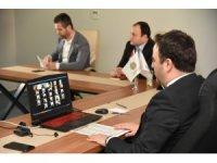 Başkan Özlü meclis üyeleriyle telekonferansla görüştü