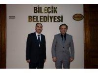 Rektör Baydemir'den Belediye Başkanı Şahin'e iadeyi ziyaret