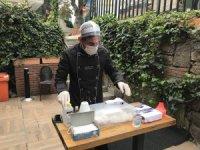 Restoranda korona virüse karşı sıra dışı önlem: dezenfekte kabini