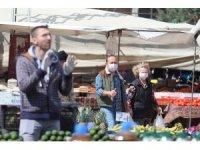 Antalya'da pazarcılara çift ve tek haneli tezgah uygulaması