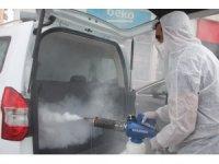 Kiralama şirketi, araçlarını korona virüse karşı dezenfekte etti