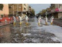 Eyyübiye'de korona virüsü mücadelesi