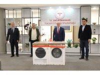 Sağlık çalışanlarına çamaşır makinesi hediyesi ile destek