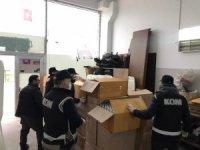 Bursa'da kaçak maske ve dezenfektan operasyonu: 5 gözaltı