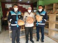Altıntaş'ta ekmek fırınları denetlendi