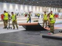 İngiliz ordusu alarma geçti! Londra'da geçici hastane inşa ediliyor