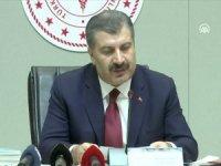 Sağlık Bakanı Koca: Bugün hayatını kaybedenlerin sayısı 63