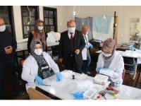Kütahya Olgunlaşma Enstitüsü her gün 2 bin maske üretiyor