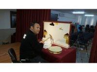 Evde uzaktan eğitim 'Hacivat-Karagöz' ile şenlendi