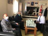 Başkan Ensari'den sağlık çalışanlarına moral ziyareti