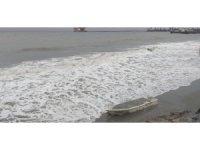 Marmara Denizinde dev dalgalar