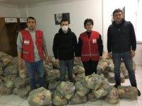 Bandırmaspor'dan 250 aileye erzak yardımı