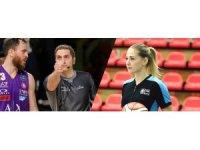 FIBA hakemleri Marziali ve Giovannetti, koronavirüs ile mücadelede ön saflarda