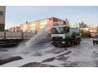 Eyyübiye'de temizlik çalışmaları aralıksız sürüyor