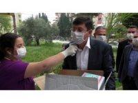 Nazilli Belediyesi'nden sağlık ocaklarına maske ve eldiven desteği