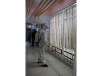 Ceyhan adliyesi ve cezaevleri dezenfekte edildi