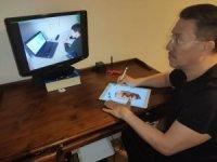 Dijital ortamda karikatür eğitimi