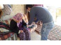Gazipaşa'da Sosyal Destek Ödemeleri evlere gitmeye başladı