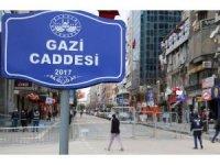 Elazığ'da 3 cadde araç ve yaya trafiğine kapatıldı