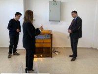 Rektör Prof. Dr. Semih Aktekin Kapadokya Teknopark'ta incelemelerde bulundu