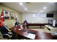 Vali Nayir, Kaymakamlar ile videokonferans toplantısı gerçekleştirdi
