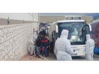 Karabük'te misafir edilen Cezayirliler ülkelerine gönderilmeye başladı