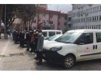 Alaşehir'de EİKP ödemeleri evlere teslim edildi