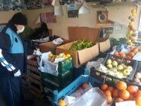 Çavdarhisar'da gıda satan iş yerleri denetlendi