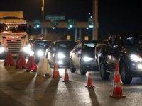 31 ile araç giriş çıkışı yasağı başladı