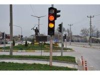 Trafik ışıklarında uyarı