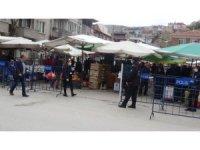 Okul güvenlik görevlileri pazarlarda görevlendirildi