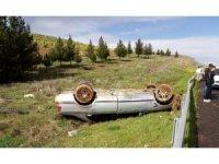 Şanlıurfa'da otomobil devrildi: 1 yaralı