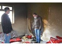 Valilik SYDV açıkta kalan Er ailesine yardım eli