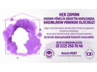 Odunpazarı Belediyesi'nden şiddete uğrayan kadınlara danışmanlık