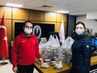 AK Parti Aydın Kadın Kolları'ndan sağlık çalışanlarına destek