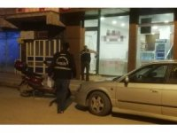 İş yerinin camını kıran alkollü şahıs gözaltına alındı
