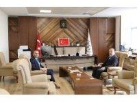 AK Partili Yavuz DSİ 21. Bölge Müdürü İlter'i ziyaret etti