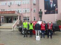 Kızılay'dan 120 gıda yardım paketi