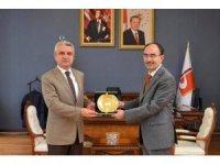 Ağır Ceza Mahkeme Başkanı ve Bilecik Cumhuriyet Başsavcısından rektöre ziyaret