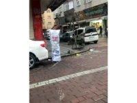 Zeytinburnu'nda korona virüse karşı çuvallı önlem