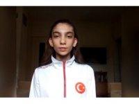 Melikgazi Belediyespor Kulübü Taekwondo Takımı Evde Çalışıyor